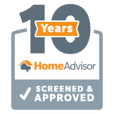 Home Advisor 10 Years Screened & Approved