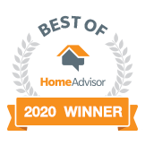 Home Advisor 2020 Winner Best of